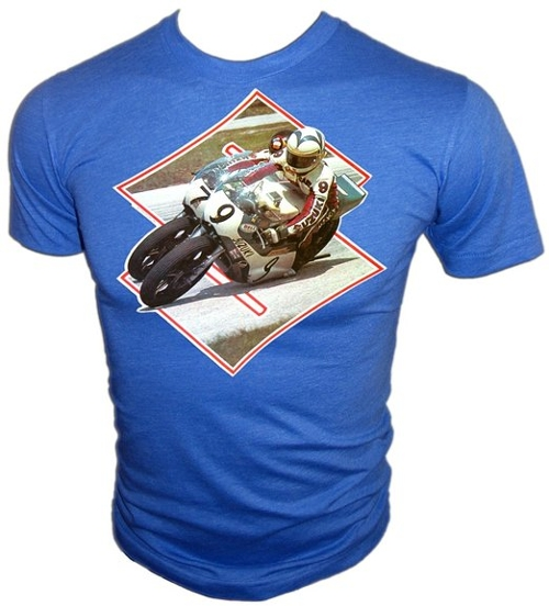 Suzuki Roadracing Motorcycle Champion T-Shirt by American Ringer in Fight Club