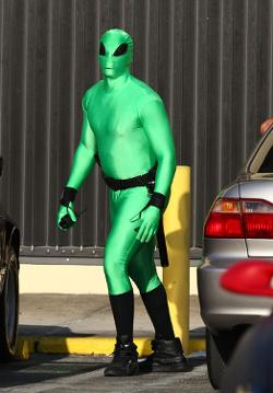 Custom Made Alien Costume (Adrian Doorbal) by Deborah Lynn Scott (Costume Designer) in Pain & Gain