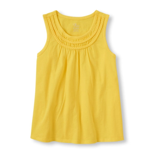 Braided Swing Tank Top by The Children's Place in Boyhood