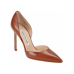 Tayler D'Orsay Pumps by Manolo Blahnik in Suits