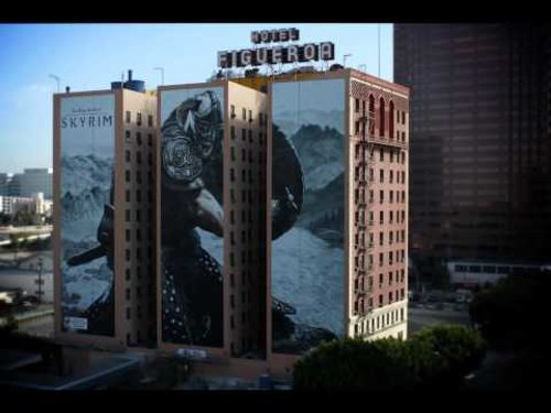 Figueroa Hotel Los Angeles, California in Taken 3