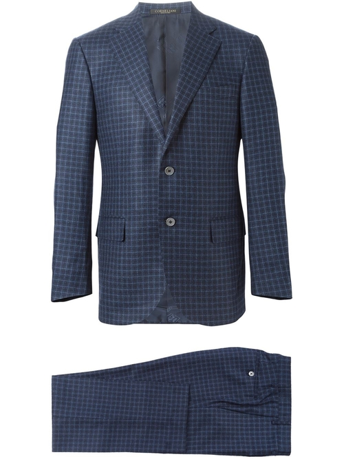 Checked Suit by Corneliani in Empire - Season 2 Episode 3