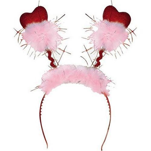 Valentine's Day Glitter Headbopper by Party America in Valentine's Day