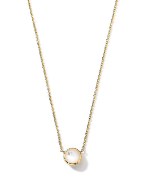 Gold Mini-Lollipop Birthstone Necklace by Ippolita in Billions - Season 1 Episode 5