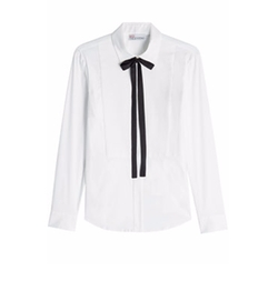 Tie Neck Blouse by Red Valentino in Kingsman: The Golden Circle
