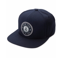 Cresticle Snapback Logo Hat by Volcom in Pete's Dragon