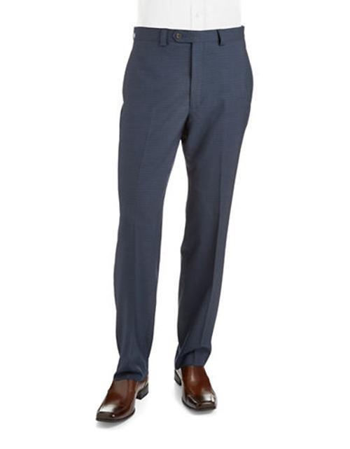 Slim Fit Patterned Dress Pants by Lauren Ralph Lauren in The Best of Me