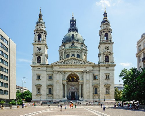 St. Stephen's Basilica Budapest, Hungary in Spy