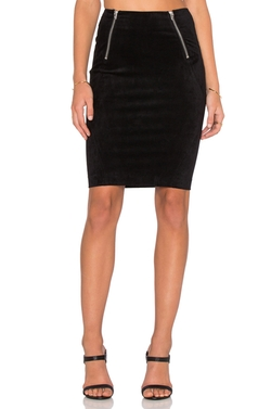 Scuba Mini Skirt by T By Alexander Wang in Arrow