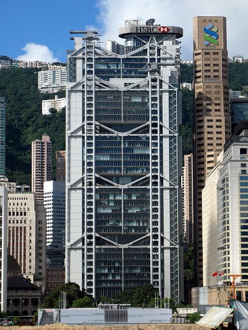 HSBC Building Hong Kong, China in Blackhat