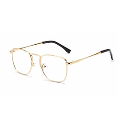 Metal Frame Square Glasses by GAMT  in The Good Place