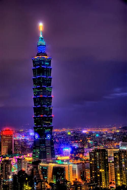 Taipei 101 Tower Xinyi District, Taipei, Taiwan in Lucy