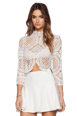 Walls Crop Top by Asilio in Keeping Up With The Kardashians