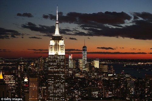 Empire State Building New York City, New York in Top Five