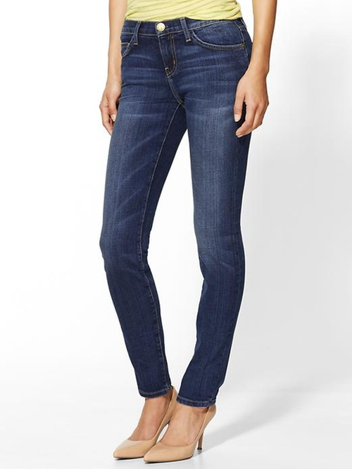 The Ankle Skinny Jeans - Loved by Current Elliott in Poltergeist