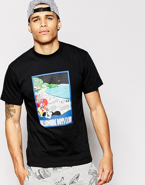 T-Shirt With Space Beach Print by Billionaire Boys Club in Mission: Impossible - Ghost Protocol