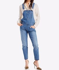 Denim Overalls by Levi's in New Girl