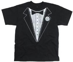 Boys Tuxedo T-Shirt by Ink Inc in Wish I Was Here