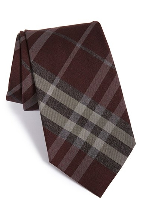 Clinton Woven Silk & Wool Tie by Burberry London in How To Get Away With Murder - Season 2 Episode 12