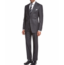 Windsor Base Birdseye Two-Piece Suit by Tom Ford in Suits