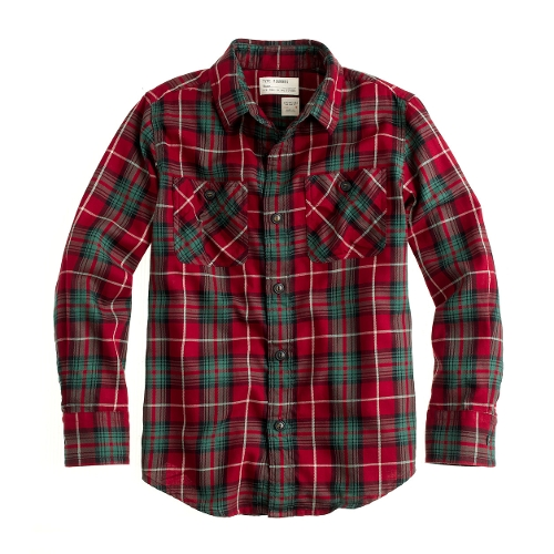 Boys' Flannel Shirt by J. Crew in Fantastic Four