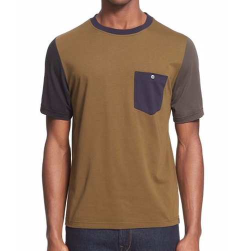 Colorblock Pocket T-Shirt by PS Paul Smith in New Girl - Season 6 Episode 3