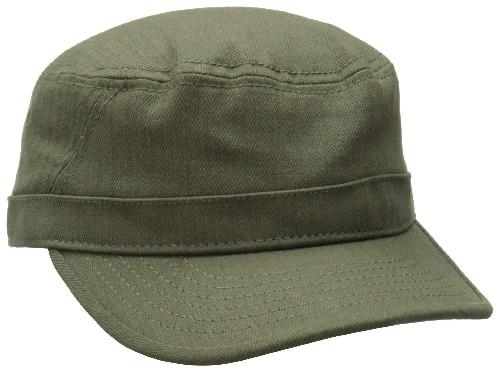 Men's Herringbone Military Cap by Ben Sherman in Sabotage