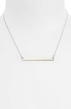 'Simple Bar' Necklace by Topshop in Pretty Little Liars