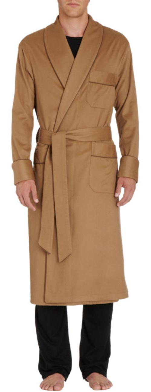 Cashmere Wrap Robe by Barneys New York in John Wick