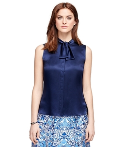 Silk Blouse by Brooks Brothers in Suits
