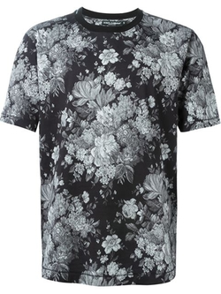 Floral Print T-Shirt by Dolce & Gabbana in Empire