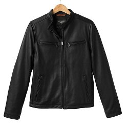 Leather Motorcycle Racer Jacket by Dockers in Need for Speed