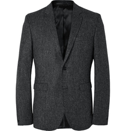 Aron Slim-Fit Wool-Tweed Suit Jacket by Acne Studios in Elementary