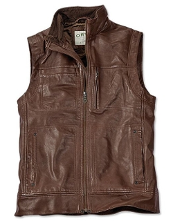 Lambskin Leather Vest by Orvis in Ricki and the Flash