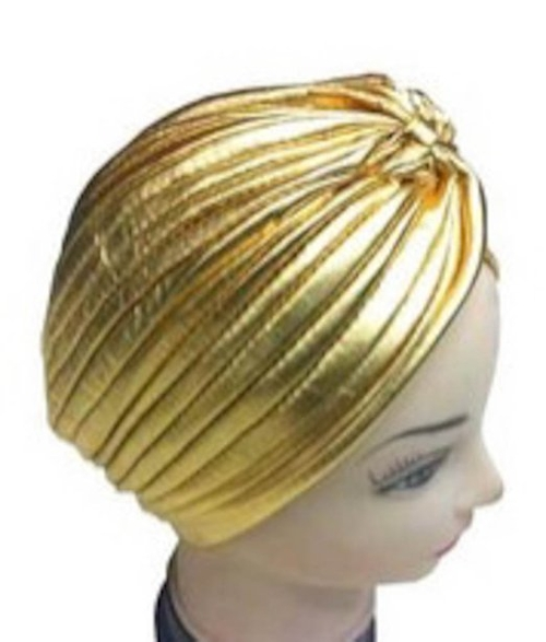 Gold Turban Hats by S Cloth in Me and Earl and the Dying Girl