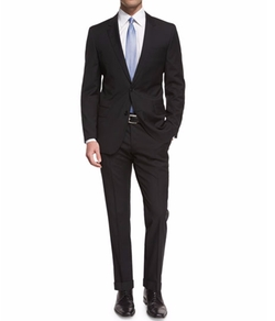 Huge Genius Slim-Fit Basic Suit by Boss Hugo Boss in Sleepless