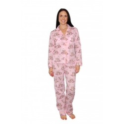 Women's Sweet Sets Owls Pink Cotton Pajamas by PJ Salvage in Unbreakable Kimmy Schmidt