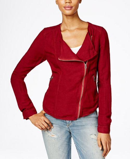 Moto Jacket by Lucky Brand in American Housewife - Season 1 Preview