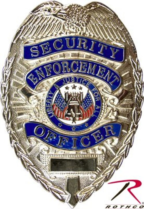 Rothco Deluxe Security Enforcement Officer Badge by Apparel Force in Need for Speed