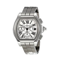 W6206019 Roadster Chronograph Silver Dial Watch by Cartier in Billions