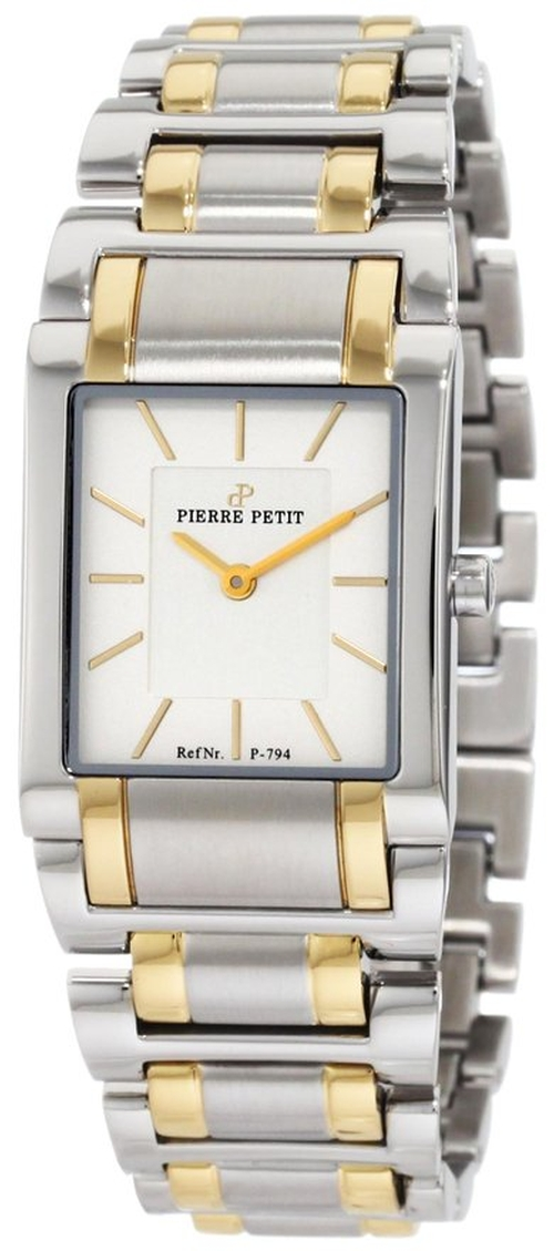 Stainless-Steel Bracelet Watch by Pierre Petit in Ride Along 2