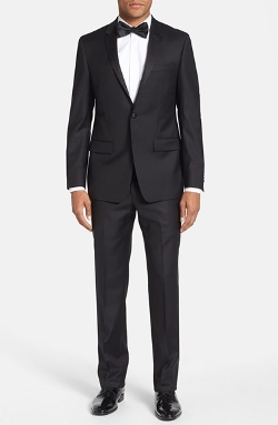 Trim Fit Wool Tuxedo Suit by Michael Kors in Ted 2