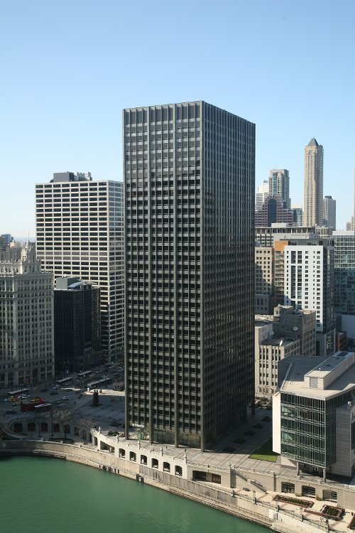 Equitable Building Chicago, Illinois in The Divergent Series: Insurgent