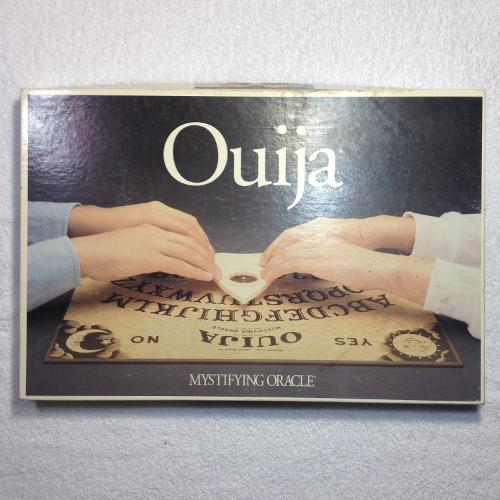 Ouija Board Mystifying Oracle by Parker Brothers in Ouija