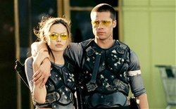 Custom Body Armor (John Smith) by Michael Kaplan (Costume Designer) in Mr. & Mrs. Smith