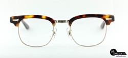 Advocate Tortoiseshell Gold Eyeglass by Old Focals in Fantastic Four