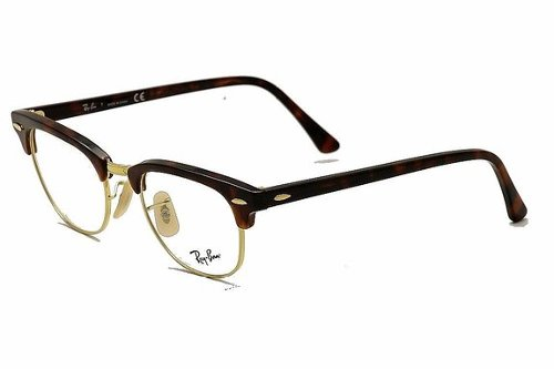 Clubmaster Eyeglasses by Ray Ban in Blackhat
