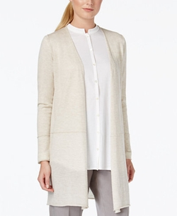 Open-Front Cardigan by Eileen Fisher in The Flash