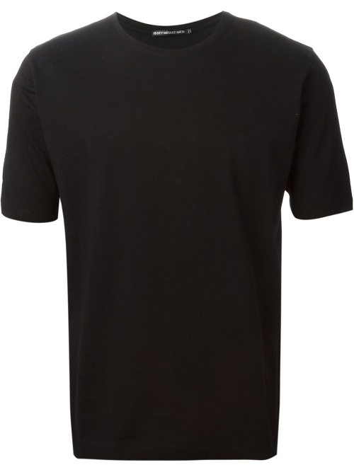 Crew Neck T-Shirt by Issey Miyake Men in Terminator: Genisys