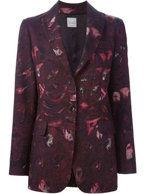 Printed Blazer by Eggs in The Good Wife - Season 7 Episode 6